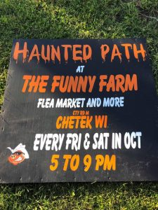 chetek haunted path flyer