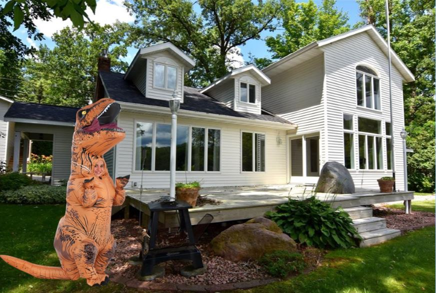 Will A Dinosaur Help Sell My Home?
